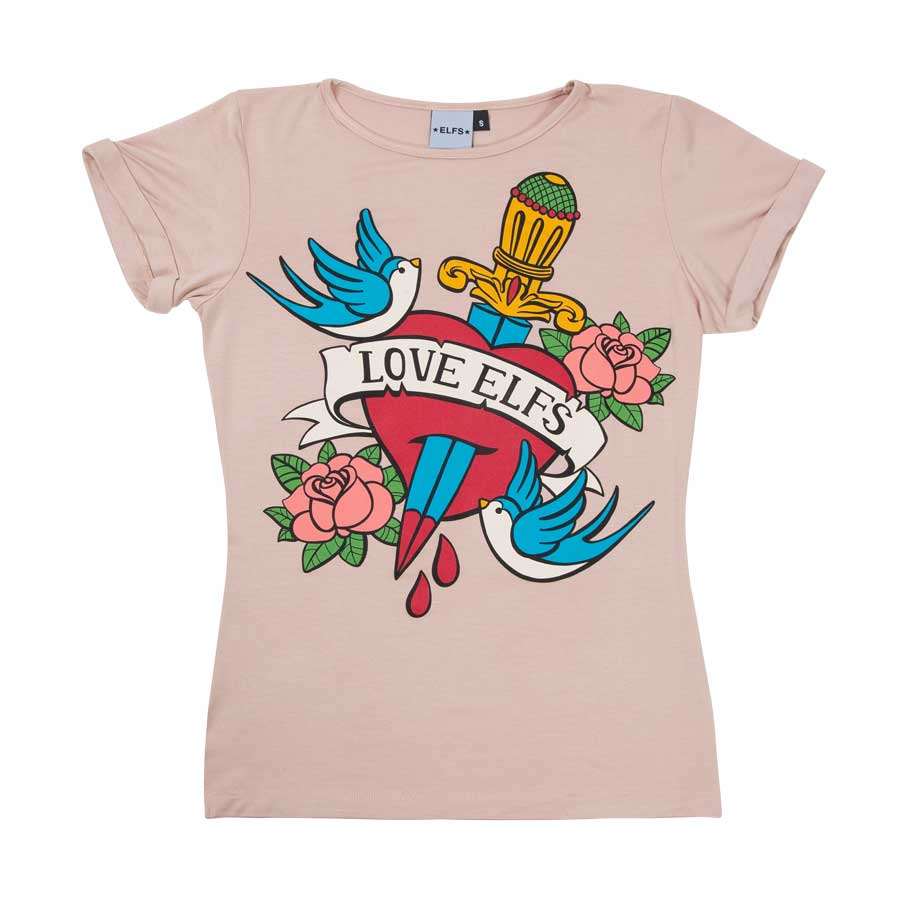 T-SHIRT-LOVE-BIRDS