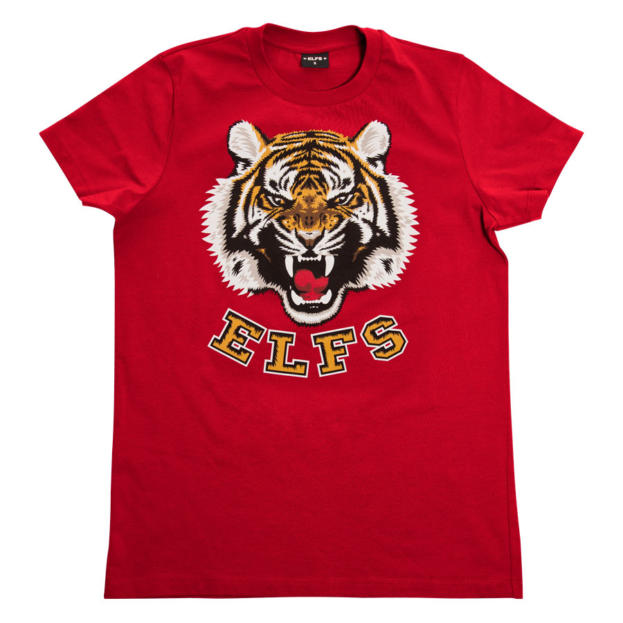 MUSKI-T-SHIRT-TIGER-RED1