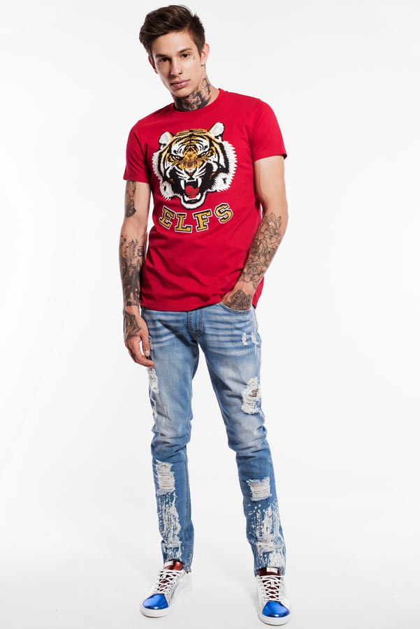 T-shirt TIGER RED